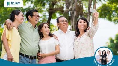 Hỗ trợ lên đến 7 triệu đồng khi cô chú trồng răng cùng nhau tại Dr. Care