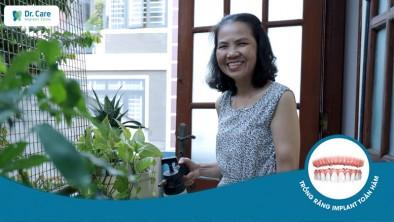 """Cô Kim Lang: """"Đừng chần chừ khi trồng răng Implant, trồng răng rồi ăn nhai thỏa thích lắm"""""""