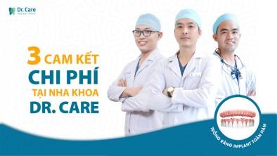 Vì sao Dr. Care quyết thực hiện 3 cam kết chi phí?