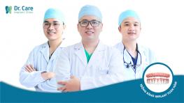 5 lời khuyên Bác sĩ Dr. Care dành riêng cho người trung niên mất răng toàn hàm