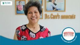 """Cô Kim Vững: """"50 năm đau đáu vì chuyện ăn nhai, bây giờ mới biết răng Implant là chân lý"""""""