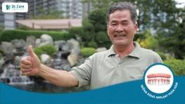 """Chú Việt Thắng: """"Sức nhai của răng Implant đạt 90% như răng thật"""""""