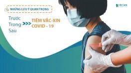 Những điều quan trọng cần biết trước, trong và sau khi tiêm Vắc-xin Covid - 19